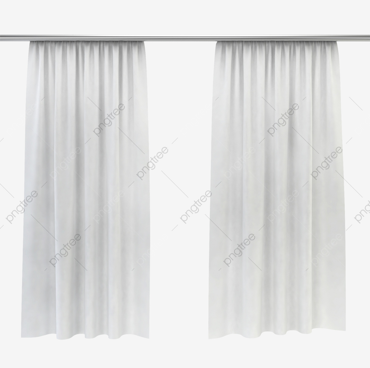White Elegant Curtain Material Object Window Curtains Silk Curtain Png Transparent Clipart Image And Psd File For Free Download