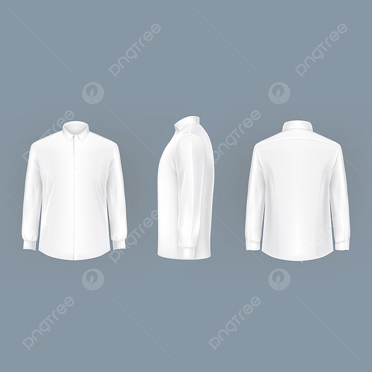 Gambar Lelaki Kulit Putih Dengan Baju Lengan Panjang Dan Butang Baju Template Vektor Png Dan Vektor Untuk Muat Turun Percuma
