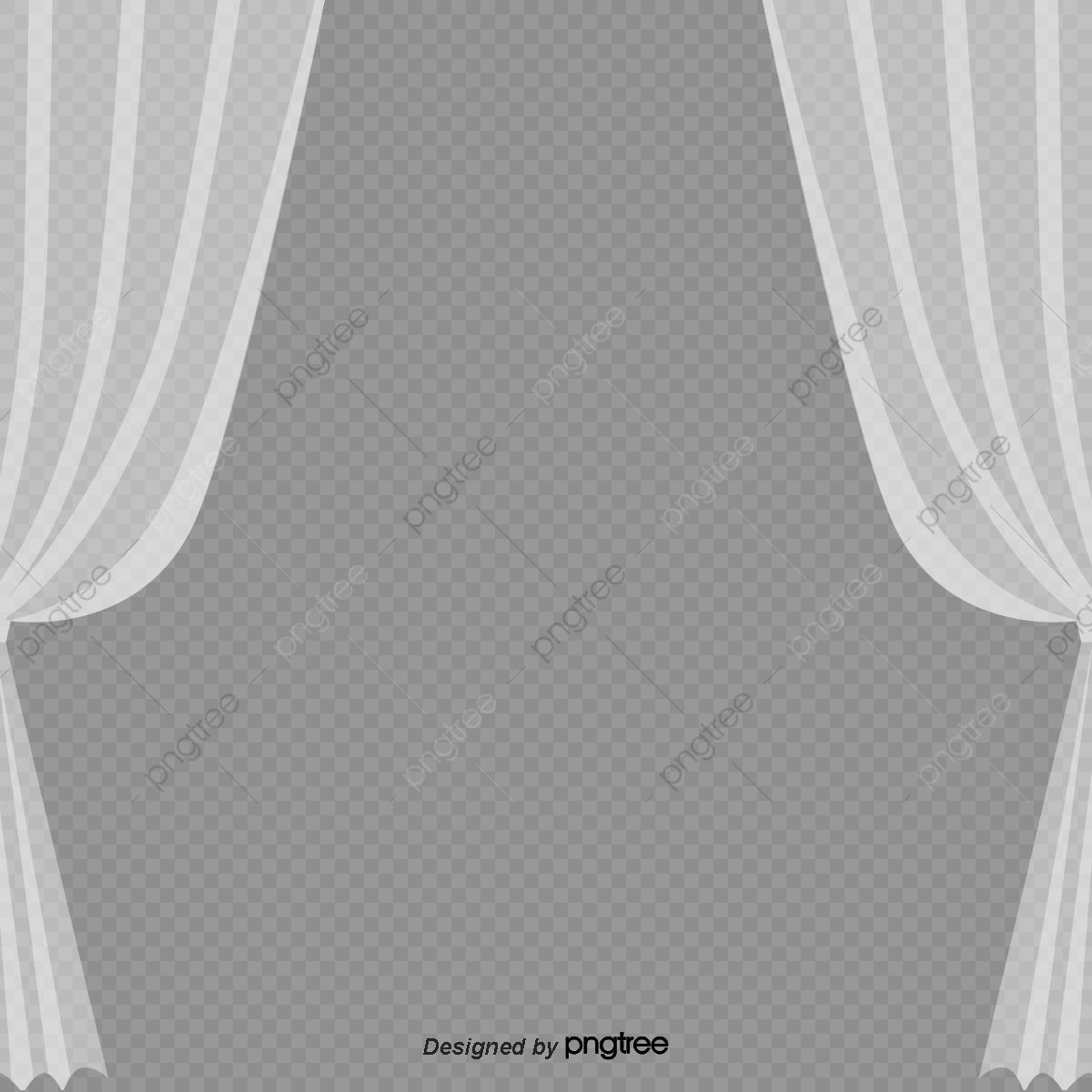 White Yarn Curtain Styleow