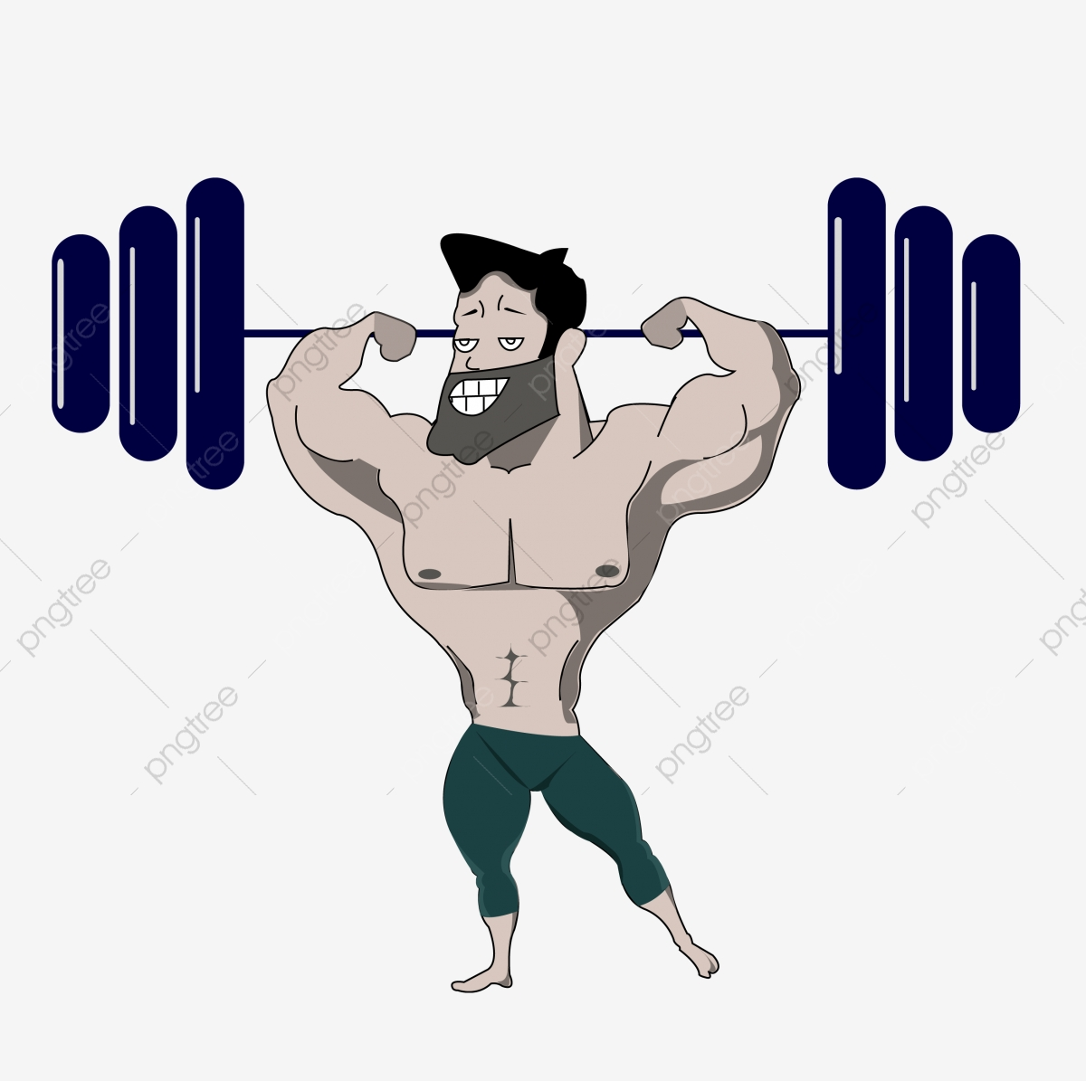 Work Out Weightlifting Man Fitness Man Stout Big Man, For