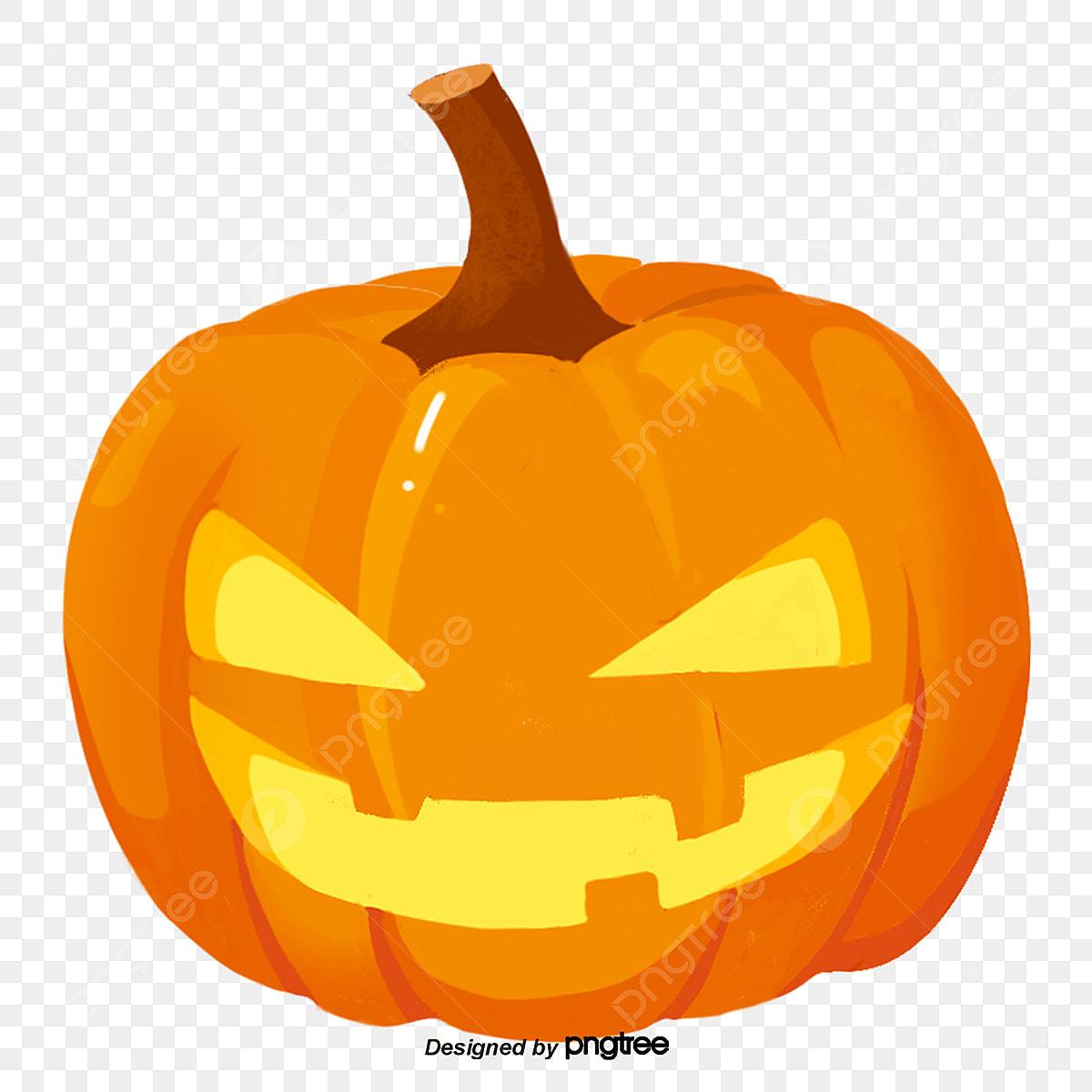 Halloween Pumpkin Png Clipart.Yellow Halloween Pumpkin Halloween Pumpkin Cartoon Png