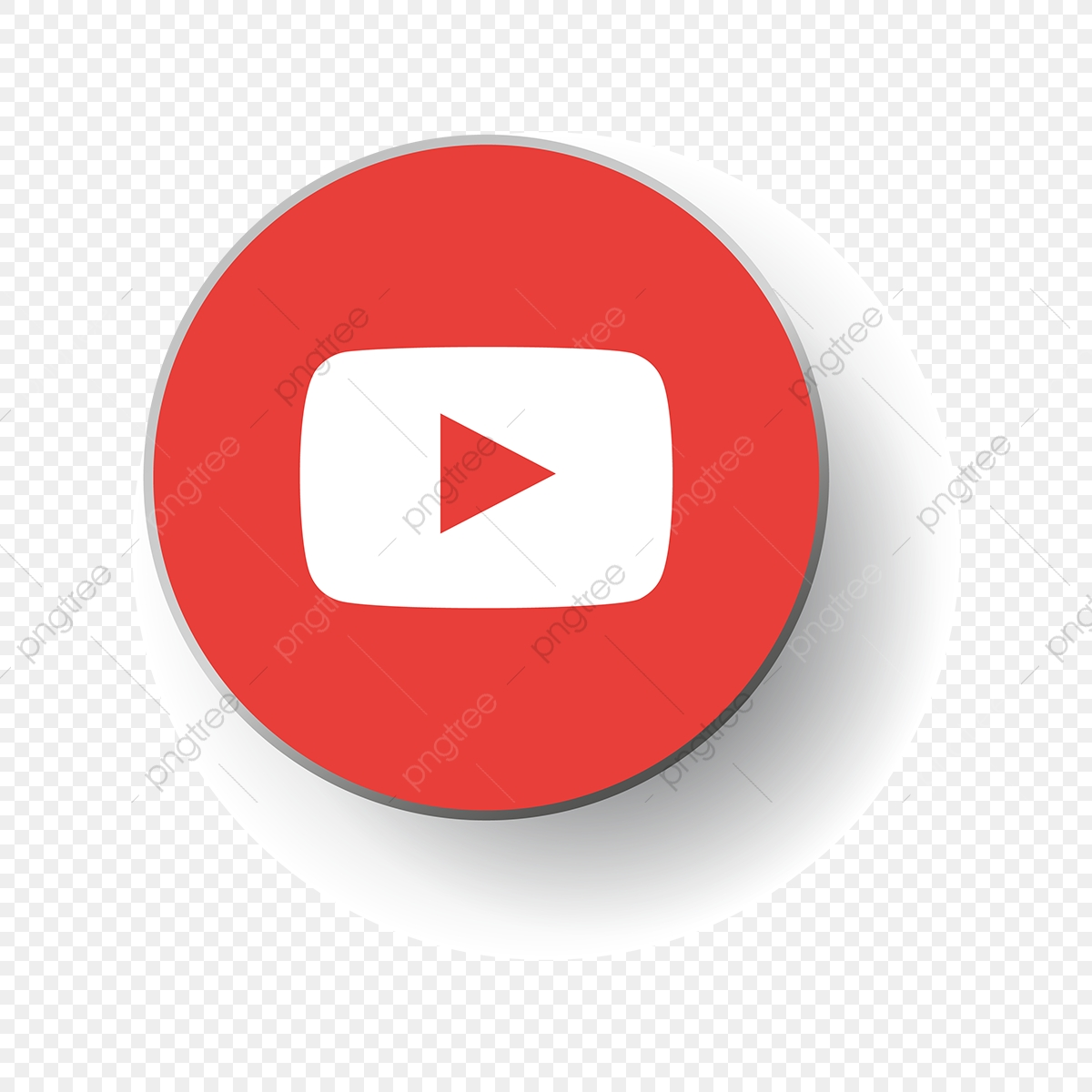Youtube Logo Icon Social Media Icon Png And Vector With