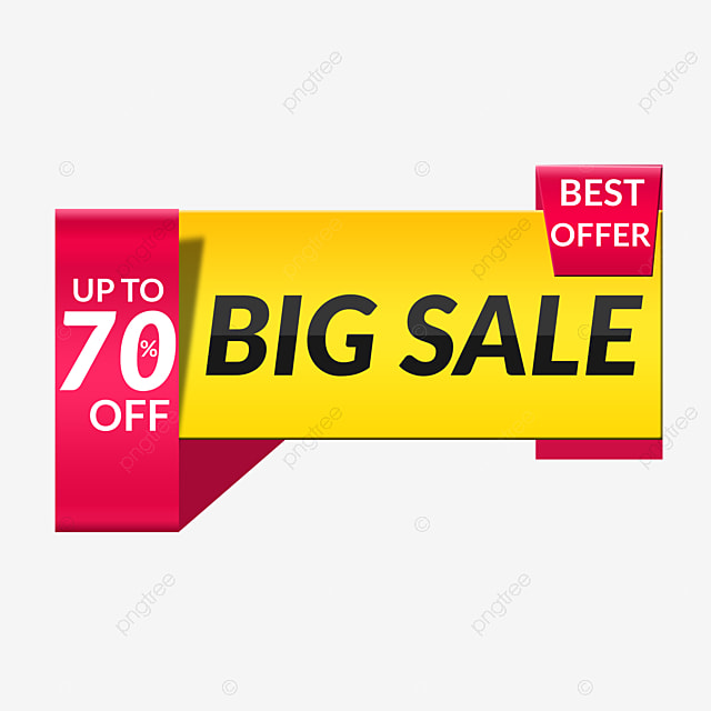 Special Offer Big Sale Discount Label Design, Banner, Sale