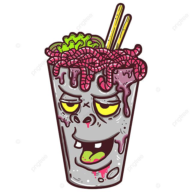 Ver Salade Art Cartoon Dessin De Conception Fichier Png