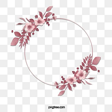 hand painted elegant luxury geometry rose gold decorative plant border, Grace, Geometric, Fashion PNG and PSD