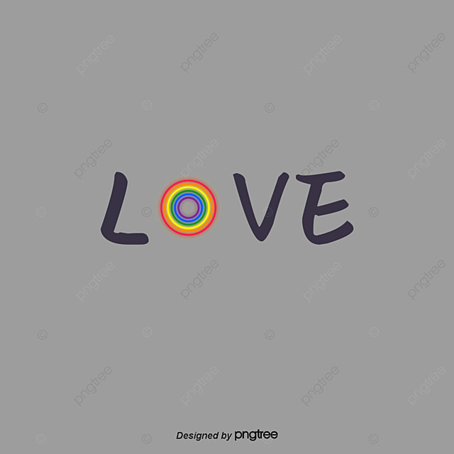 Rainbow Color Is Proud Moon Font Art Font For Free Download