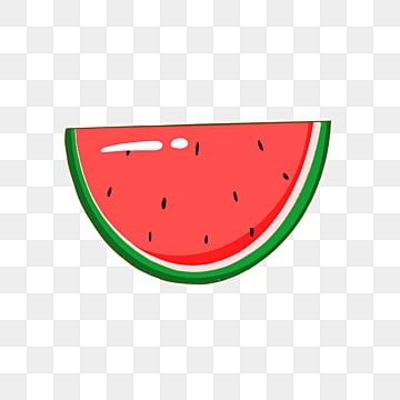 colorful cartoon fruit watermelon emblem element illustration, Cartoon, Lovely, Badge PNG and PSD
