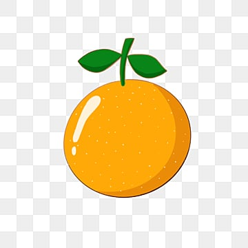 colorful orange fruit cartoon emblem element illustration, Cartoon, Leaf, Color PNG and PSD
