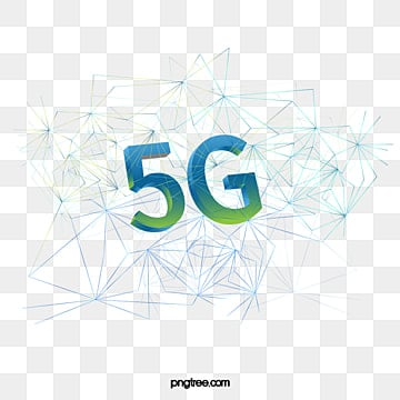 3d stereo internet communication technology network line structure gradual change in 5g era, 3d Stereo, 5g, 5g Internet PNG and PSD