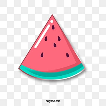 fruit gourmet cartoon emblem red watermelon, Cartoon, Lovely, Pattern PNG and PSD