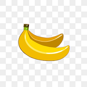 yellow banana cartoon emblem elemental illustration, Cartoon, Badge, Fruits PNG and PSD