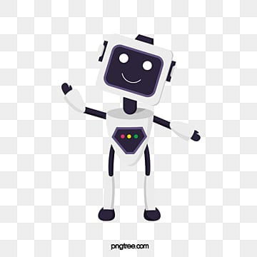 elemental illustration of flat intelligent robot, Artificial Intelligence, Flat, Intelligence PNG and PSD