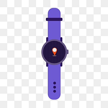 elemental illustration of flat smart watch, Artificial Intelligence, Icon, Screen PNG and PSD