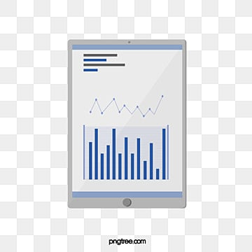 flat smart tablet element illustration, Artificial Intelligence, Icon, Screen PNG and PSD