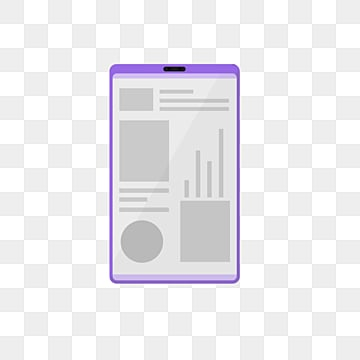 Flat Smartphone Element Illustration, Artificial Intelligence, Icon, Screen PNG and PSD