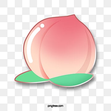 fruit gourmet cartoon emblem peach, Cartoon, Lovely, Pattern PNG and PSD