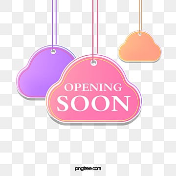 flat gradient colors  grand opening  simple style hanging label, Suspension, Label, Gradient Color PNG and PSD