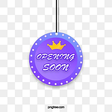round  flat  gradient  grand opening  simple style hanging tag, Circular, Suspension, Label PNG and PSD
