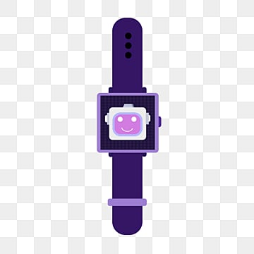elemental illustration of smart watch for flat ai robot, Artificial Intelligence, Flat, Intelligence PNG and PSD