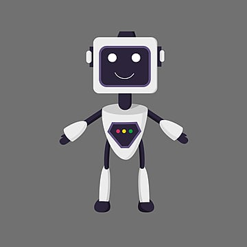 flat ai robot element illustration, Artificial Intelligence, Flat, Intelligence PNG and PSD