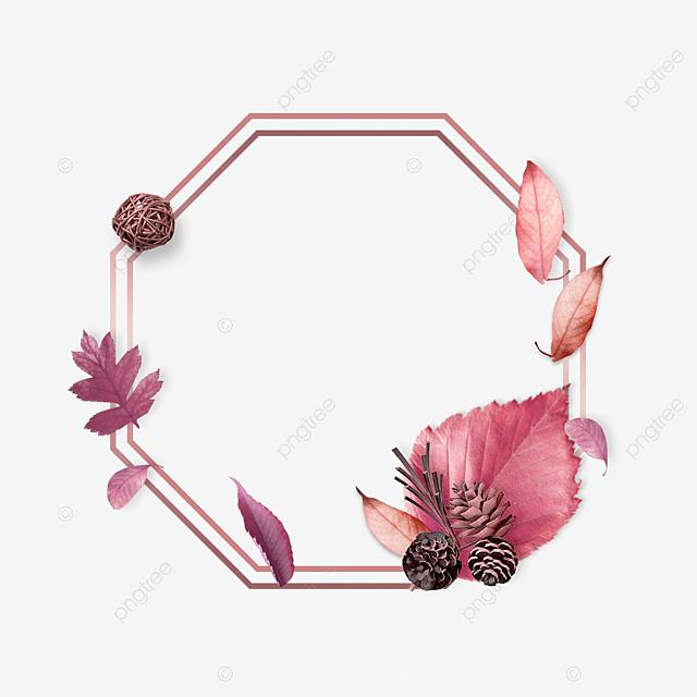 Elegant Luxury Rose Gold Leaf Border, Geometric, Luxurious ...