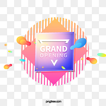 fresh gradient colored square text box elements, Triangle, Irregularity, Geometric PNG and PSD