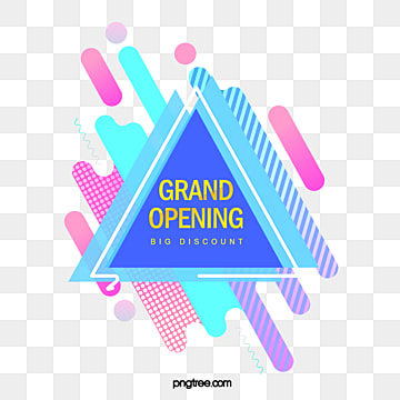 geometric triangle start up e commerce label, Triangle, Promotion, Geometric PNG and PSD