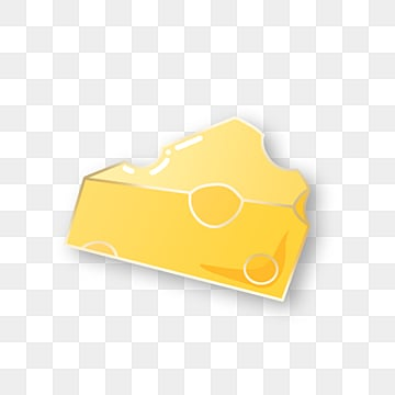 lovely yellow cheese emblem element, Element, Lovely, Cheese PNG and PSD