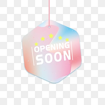 shop opening poster hexagonal hanging advertising label simple wind minimalist macaron, Five-pointed Star, Promotion, Hexagon PNG and PSD