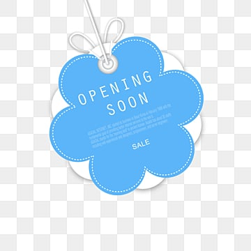 simple grand opening label, Promotion, Suspension Tag, Label PNG and PSD