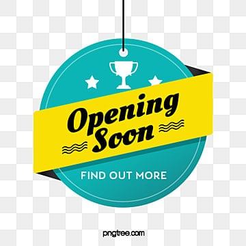 simple hanging grand opening label, Celebrating, Shop, Practice PNG and PSD