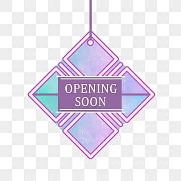 simple style hanging grand opening creative label, Irregular Graphic, Creative, Suspended Form PNG and PSD