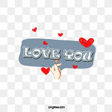 gray background red love heart dialog box love you font design Fonts