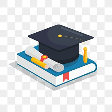 25d bachelors hat for graduates, University, Bachelor, Bachelor Cap PNG and PSD