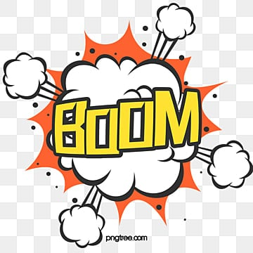 Boom Explosive Box Font, Boom, Wow, Creative PNG and PSD