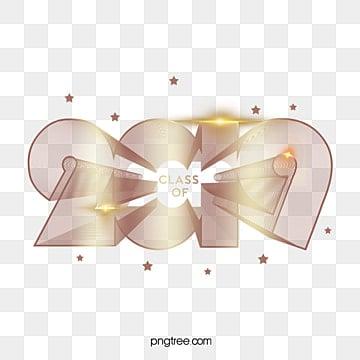 class of 2019 3d golden logo Fonts