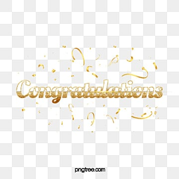 congratulations lettering with glitter decoration Fonts