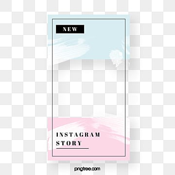 Fresh color advertising display frame, Instagram, Advertising Display Box, Social Media PNG and PSD