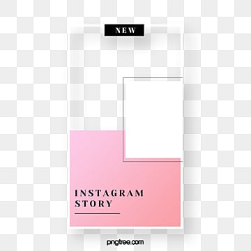 Pink Simple Advertising Display Box, Instagram, Advertising Display Box, Social Media PNG and PSD