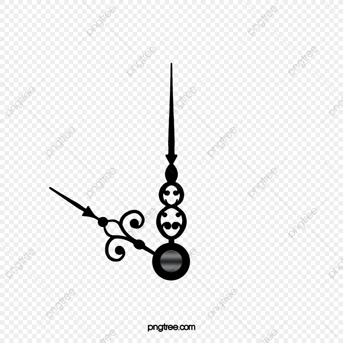 Las Manos Del Reloj Negro Hermoso, Clipart De Reloj, Manecillas Del Reloj  Negro, Hermosas Manecillas Del Reloj PNG y PSD para Descargar Gratis |  Pngtree
