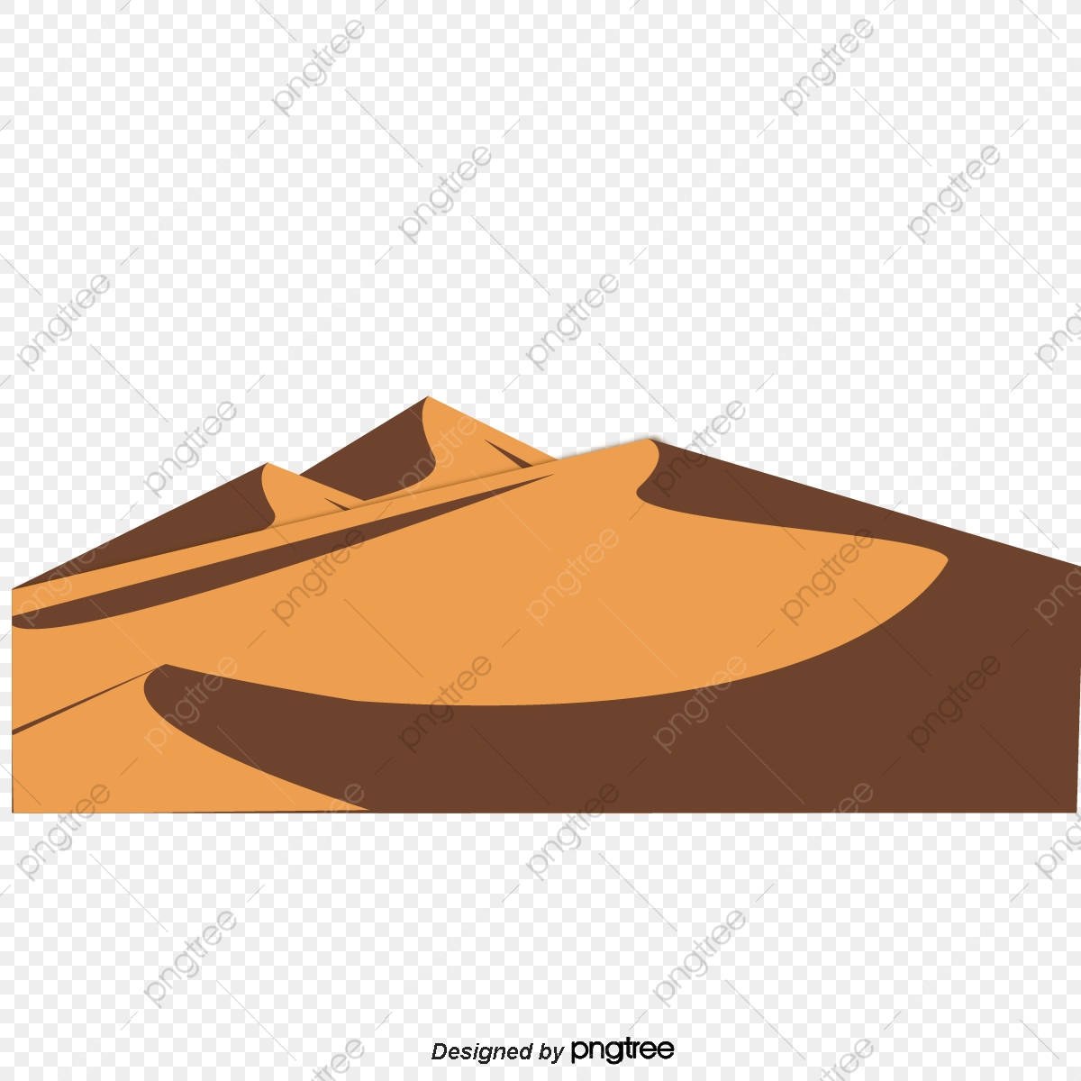 Beautiful Desert Image, Desert Clipart, Vast Desert PNG Transparent