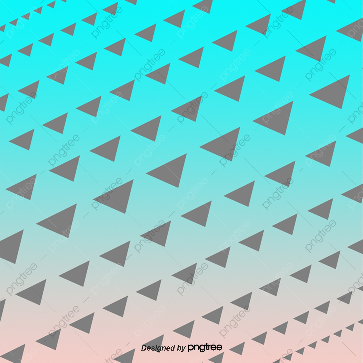 Blue Triangle Background, Triangle Clipart, Triangle