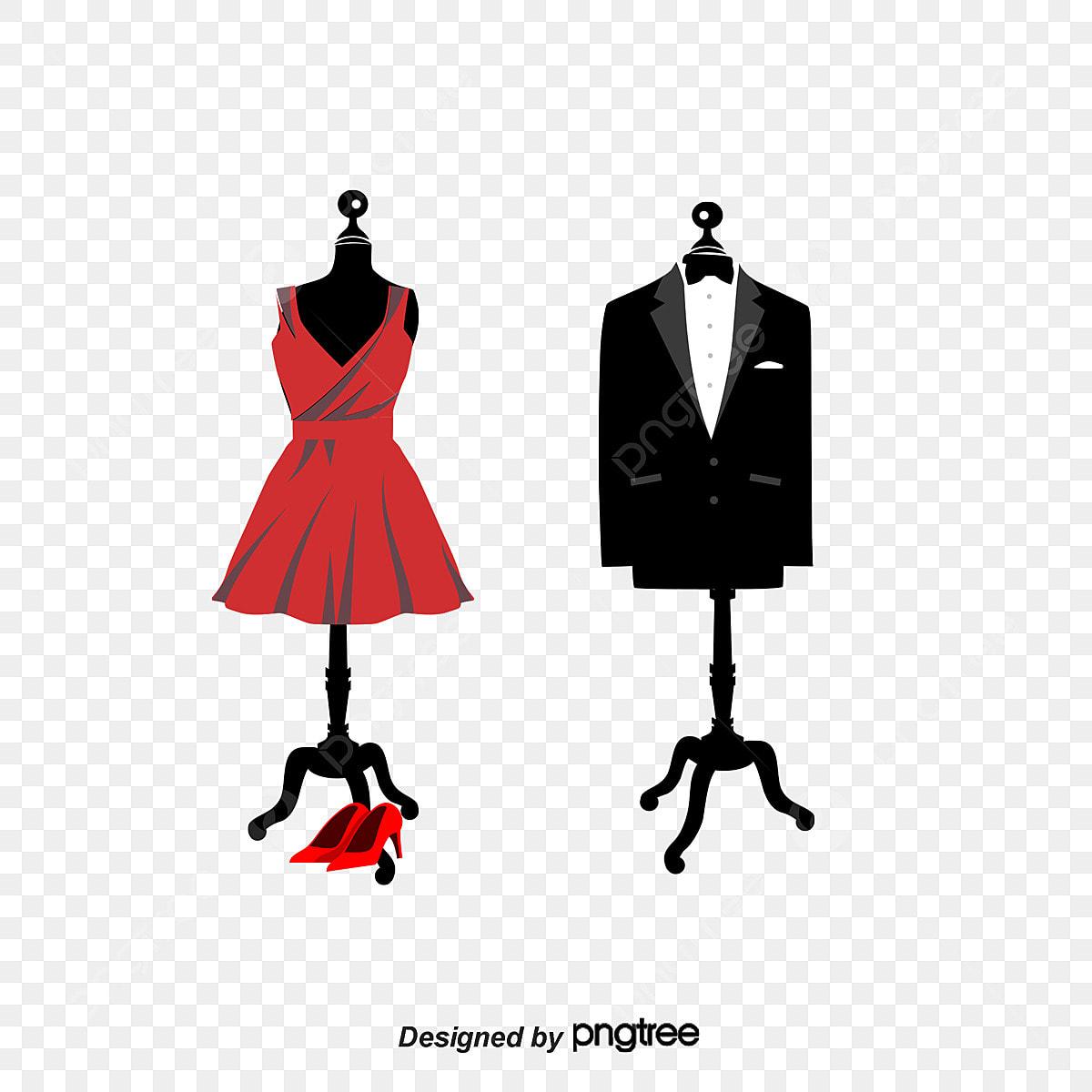 c0e5c642c Vestido De Novia Y El Novio Vestido Ropa Boda Percha Archivo PNG y ...