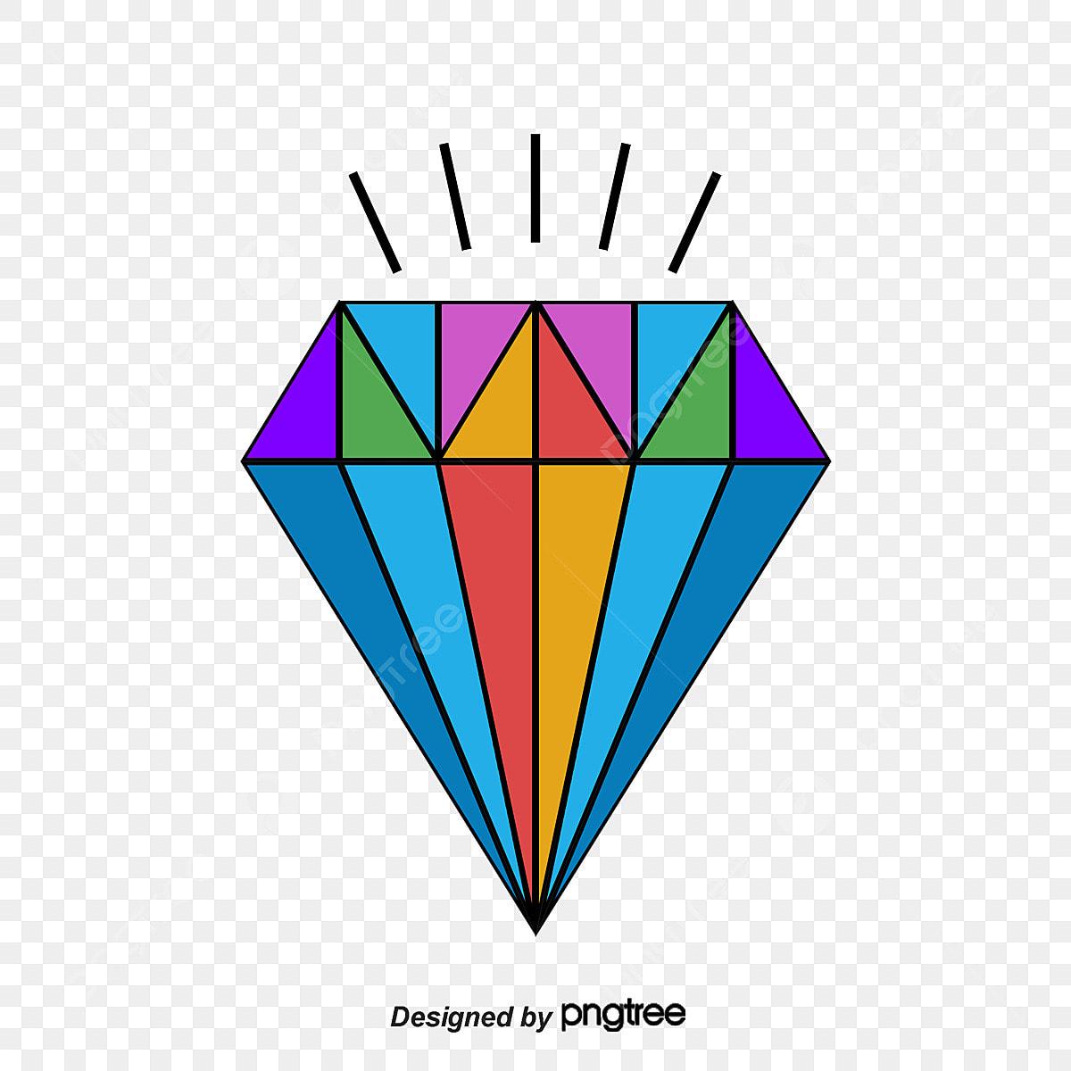 Diamante Tatuagem Desenhos Cartoon Diamond Tatuagem Png E Vetor