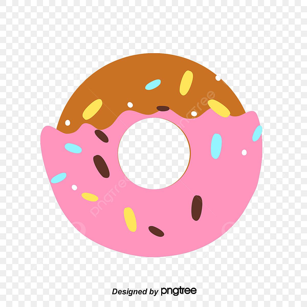 Dessin De Donuts Rose Dessin Beignet Fichier Png Et Psd Pour Le