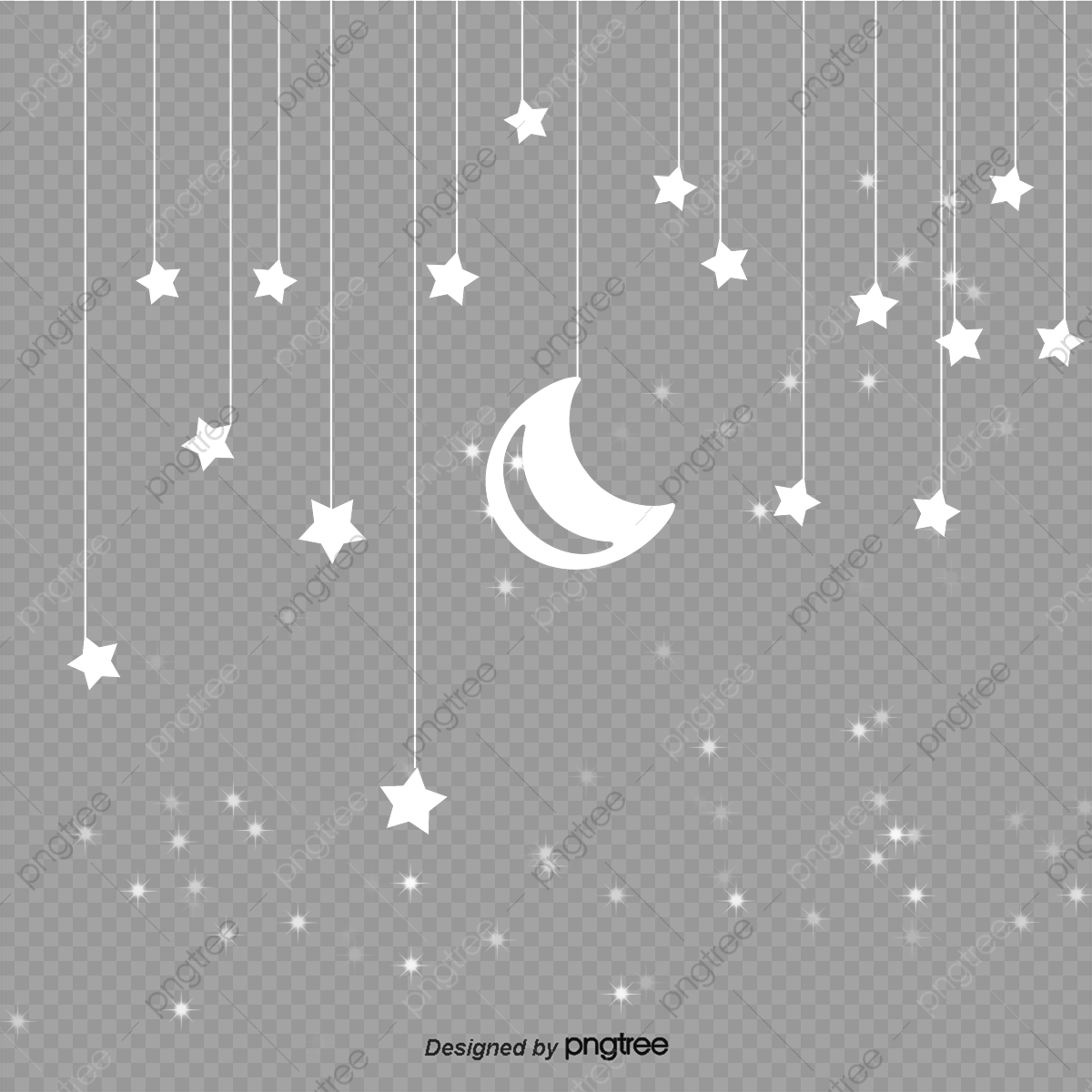 Paper Moon and Stars Mobile (With images) | Diy baby stuff | 1200x1200
