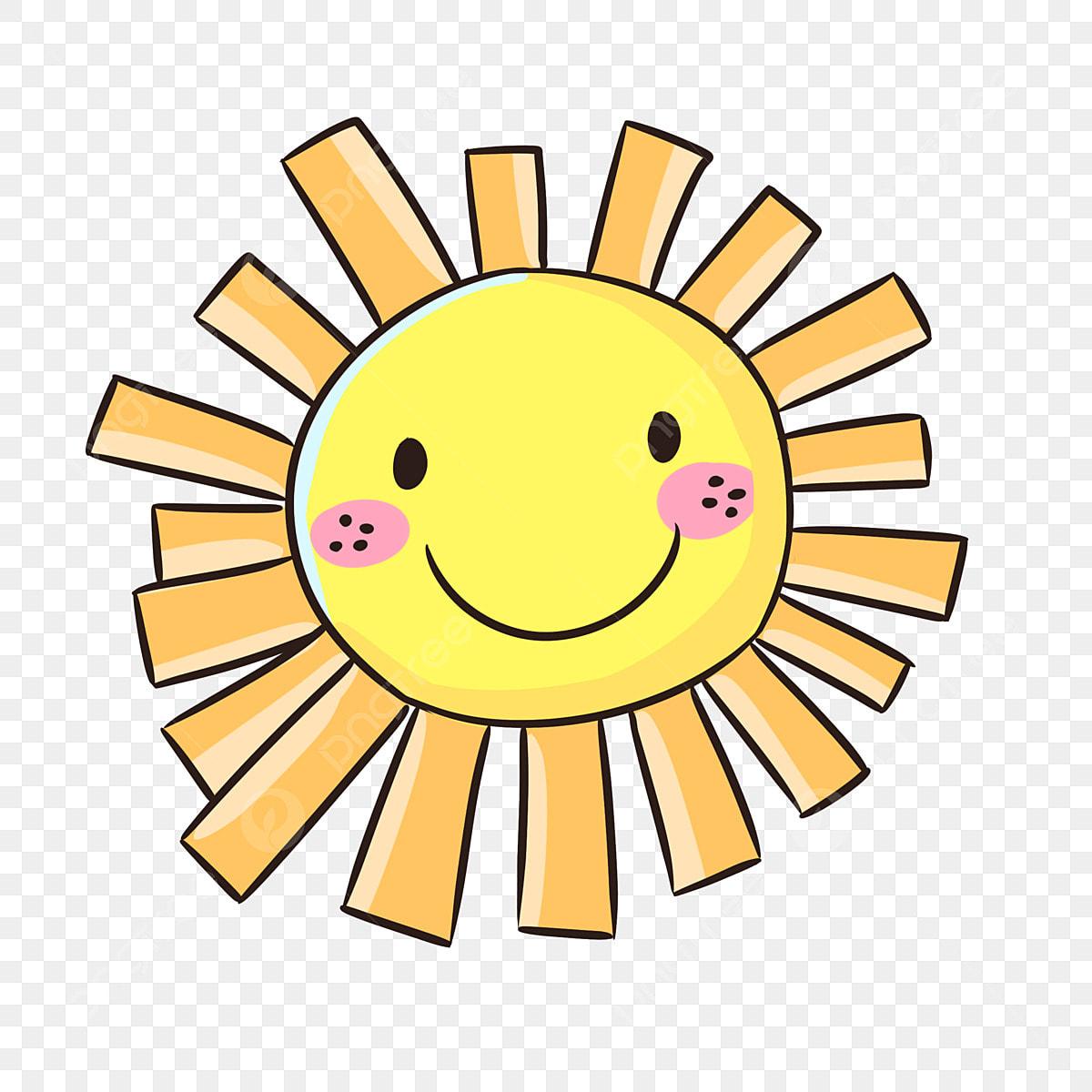 Sun Face Clip Art