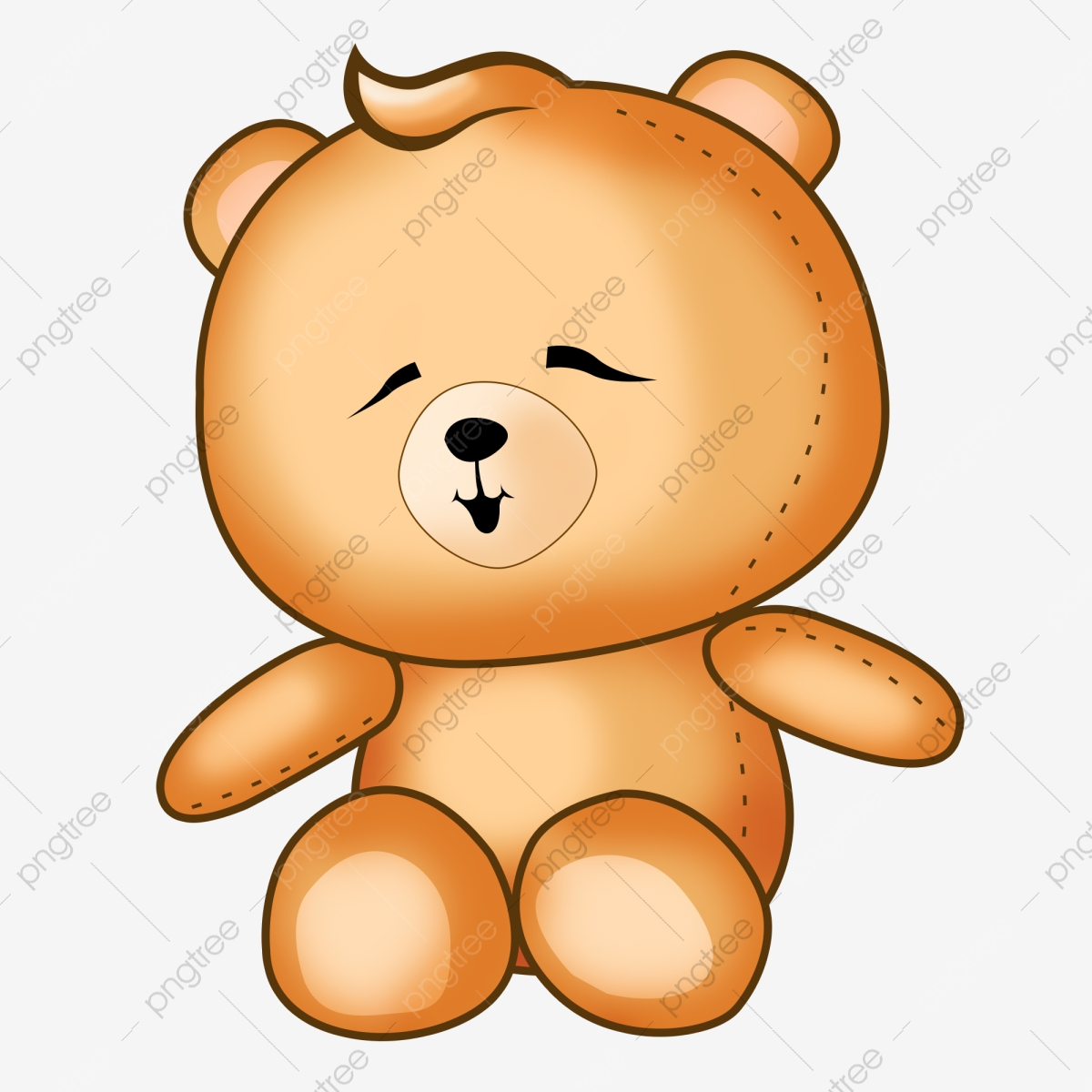 Cartoon Teddy Bear Toys Pattern, Cartoon Vector, Bear Vector