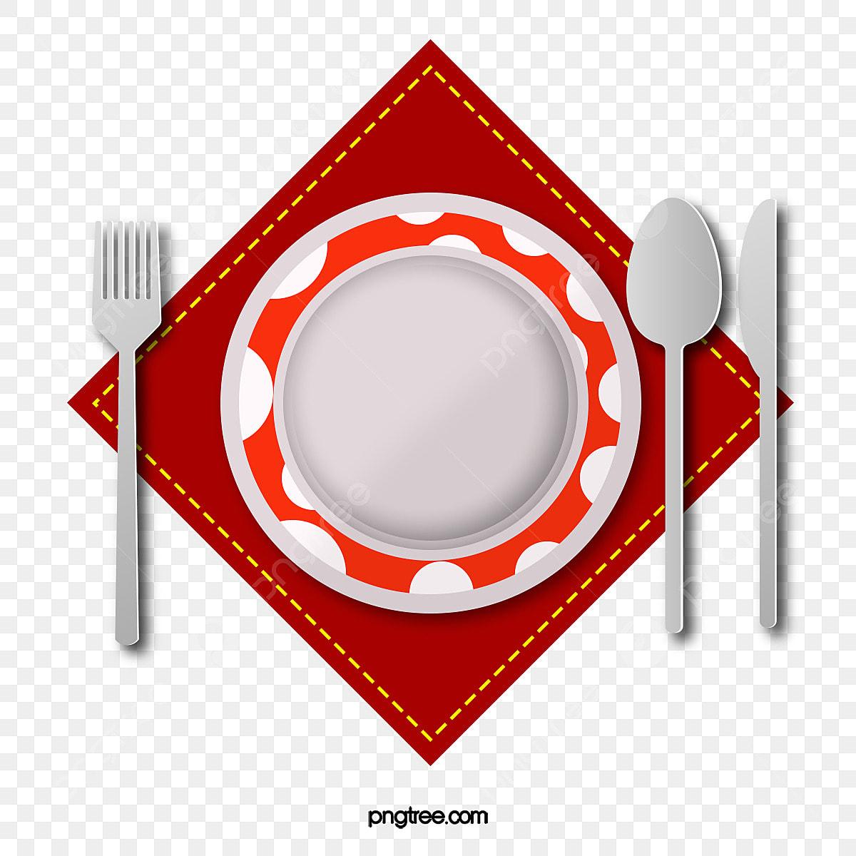 Bandeja De Garfo E Faca De Cozinha A Cozinha Restaurante
