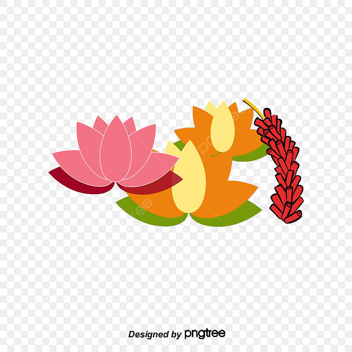 Chinese New Year Decorative Flower, Chinese New Year, New ...